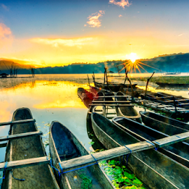 Tamblingan lake - Bali by Shenz Senichi Kunisada - Landscapes Sunsets & Sunrises