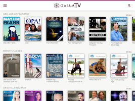 Screenshot of Gaiam TV - Streaming Video