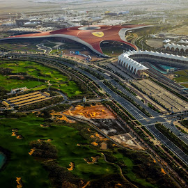 Ferrari World Abu Dhabi by Rajan George - Buildings & Architecture Other Exteriors