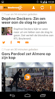 Screenshot of RTL Nieuws mobile