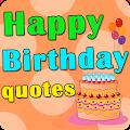 App Happy Birthday quotes APK for Windows Phone