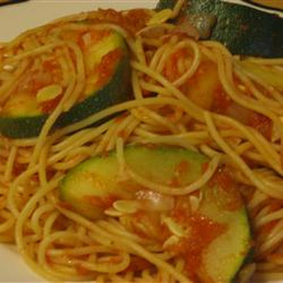 angel hair with zucchini and tomatoes recipes dishmaps angel hair ...