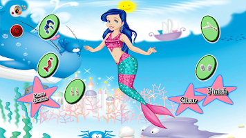 Screenshot of Games for Girls Mermaid