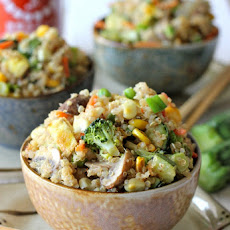 "Quinoa Veggie ""Fried Rice"""