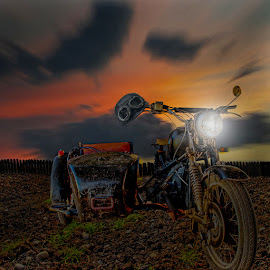 Ged ride by George Leontaras - Digital Art Things ( ride, hellas, motorcycler, volos, motor, greece, digital art, glart, photoshop photography, fine art, motorcycle, manipulation )