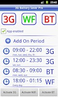 Screenshot of 3G Battery Saver Pro + WiFi BT