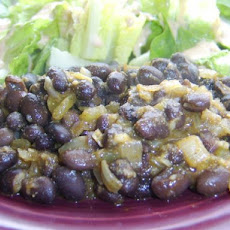 Sarasota's Spicy Simple Black Beans