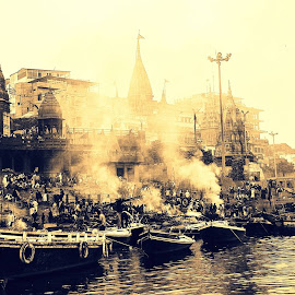 Varanasi by Madhurima Das - City,  Street & Park  Historic Districts