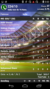Cricket Live Score - CricLive - screenshot
