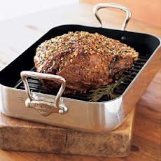 Garlic-Herb Standing Rib Roast