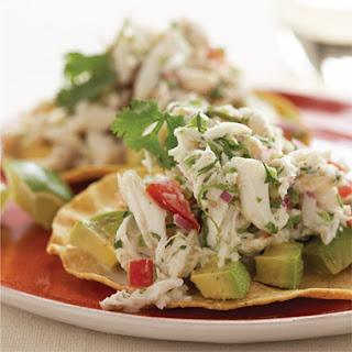 Crab Tostadas Recipes