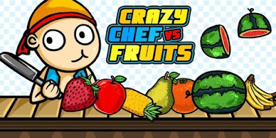 Screenshot of Crazy Chef vs Fruits