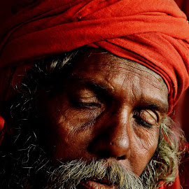 Sleep of Thought by Arnab Bhattacharyya - People Portraits of Men