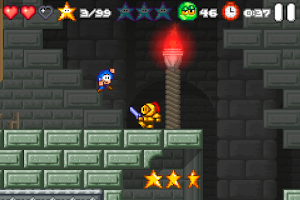 Screenshot of Bloo Kid 2