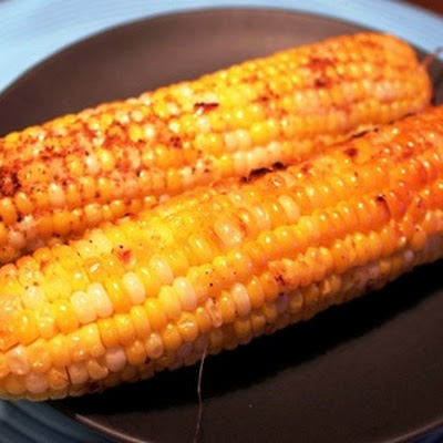 Hot & Spicy Potatoes & Corn on the Cob