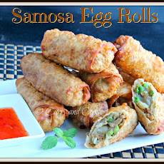 Chicken Samosa Egg Rolls