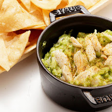 Guacamole with Old Bay and Crab