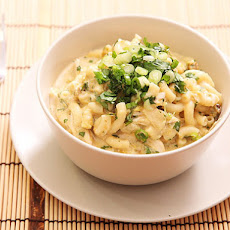 Green Chile Chicken Macaroni and Cheese
