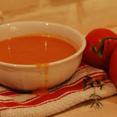 Sunset Tomato Soup