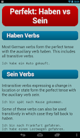 Screenshot of German Verbs Pro