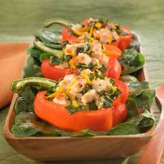 Red And Green Bell Pepper Boats Recipes
