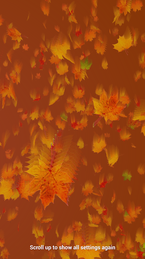 Autumn Leaves Live Wallpaper Screenshot 6