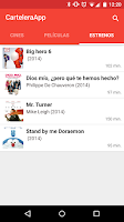 Screenshot of CarteleraApp