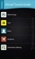 Screenshot of Tourist Guide for Greece