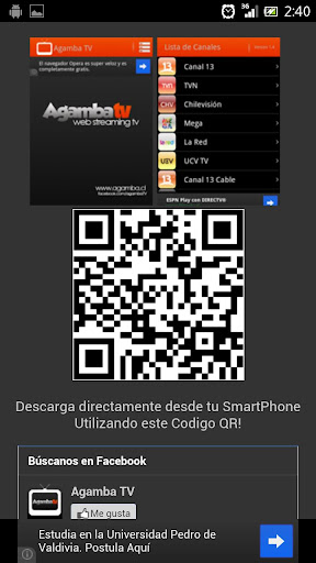 agambatv-instalador for android screenshot
