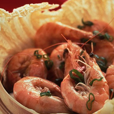 Asian Steamed Shrimp