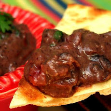 Smokey Black Bean Chipotle Dip