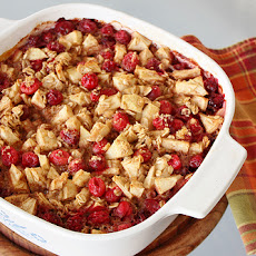 Cranberry Apple Cinnamon Baked Oatmeal