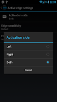 Screenshot of Edge Pro: Quick Actions