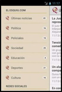 El Esquiu.com - screenshot