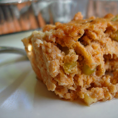 Buffalo Chicken Mini Meatloaf