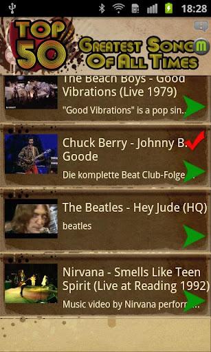 無料娱乐Appのベストソング50|記事Game