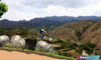 Screenshot of Crazy Bike Racing Moto