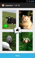 Screenshot of Kids Quiz Game