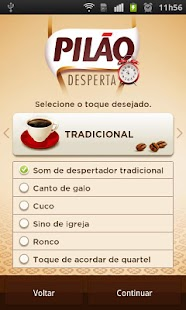 Pilão Coffee Alarm - screenshot