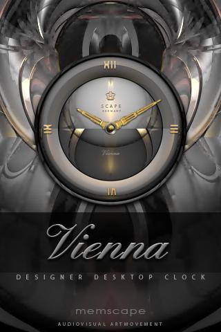 VIENNA Designer Clock Widget