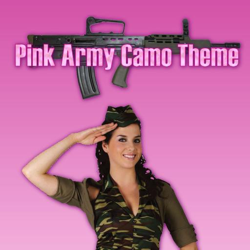 GO SMS PRO Pink Army Camo LOGO-APP點子
