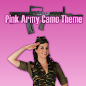 GO SMS PRO Pink Army Camo icon