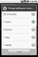 Screenshot of WallPaper Rotator
