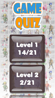 Screenshot of Videogames Quiz