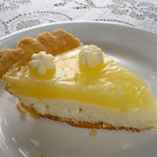 Kittencal's Bakery Shop Lemon Cream Cheese Pie