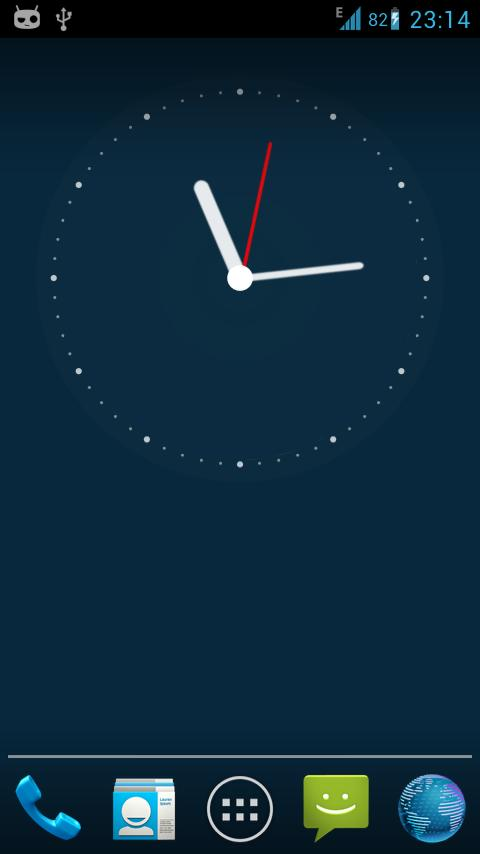 Clock Live Wallpaper Screenshot 2