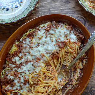 Baked Spaghetti In White Sauce Recipes