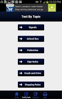 Screenshot of Alaska Driving Test
