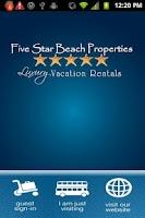 Screenshot of Five Star Beach Properties