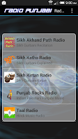 Screenshot of Radio Punjabi